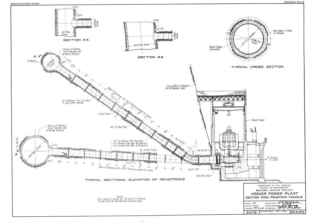 Hoover Dam Power Plant Diagram – The Wiring Diagram ...  Hoover